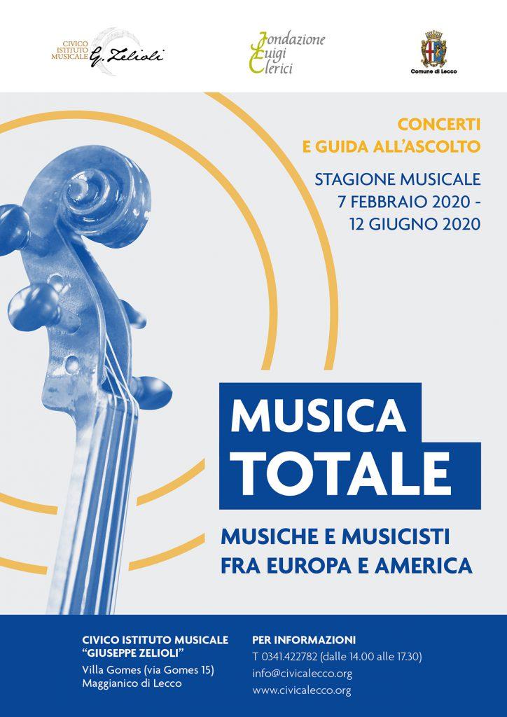 Musica Totale Civico Istituto Musicale G. Zelioli Lecco